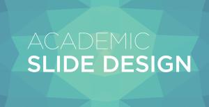 Academic slide design banner