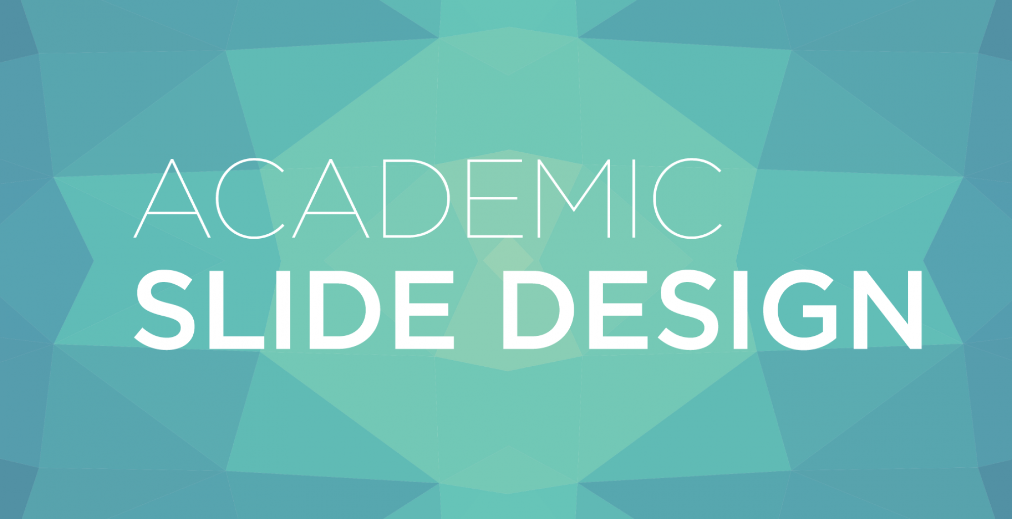 academic slide design visual communication for teaching and